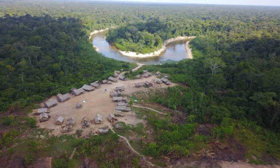 Terra indígena Vale do Javari, no Estado do Amazonas Foto: Adam Mol/Funai