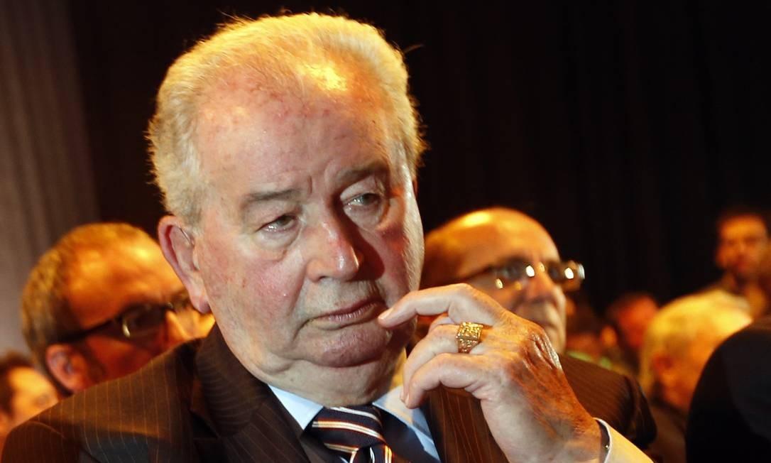 Julio Grondona, ex-presidente da Associação do Futebol Argentino (AFA), em maio de 2014 Foto: ENRIQUE MARCARIAN / REUTERS