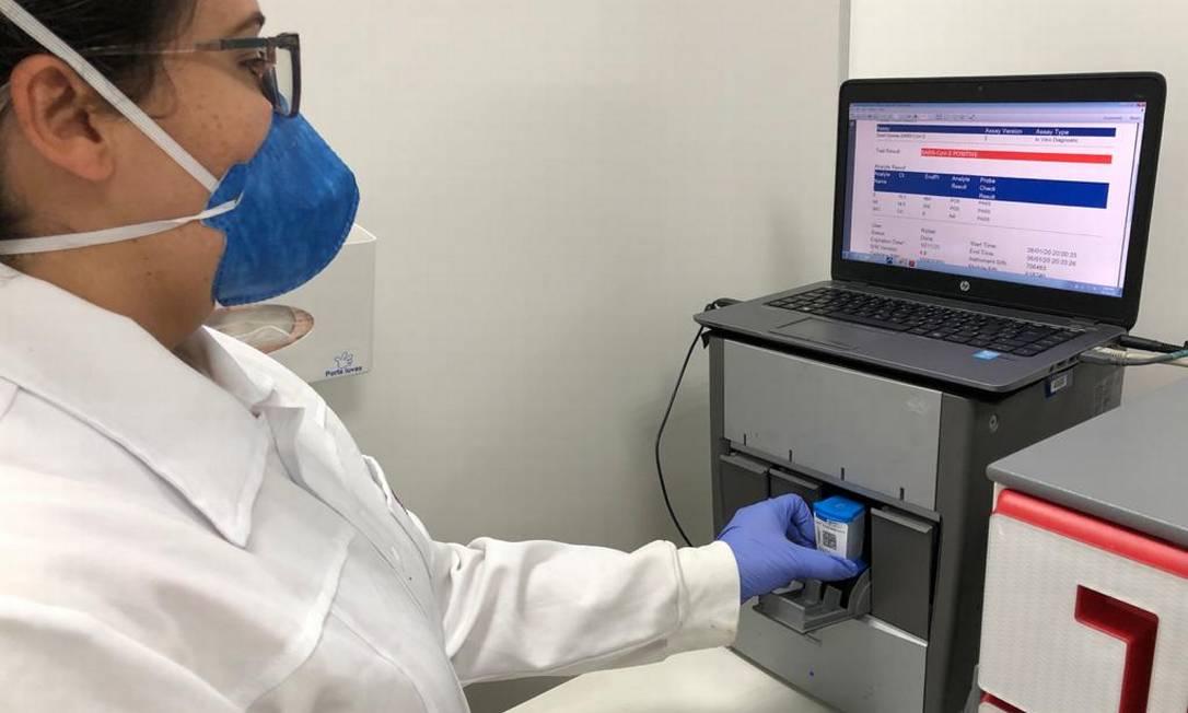 Teste que detecta Covid-19 em 45 min já está disponível no Brasil Foto: Divulgação