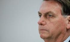 O presidente Jair Bolsonaro se manifesta em ação no TSE Foto: Isac Nobrega / Isac Nóbrega/PR