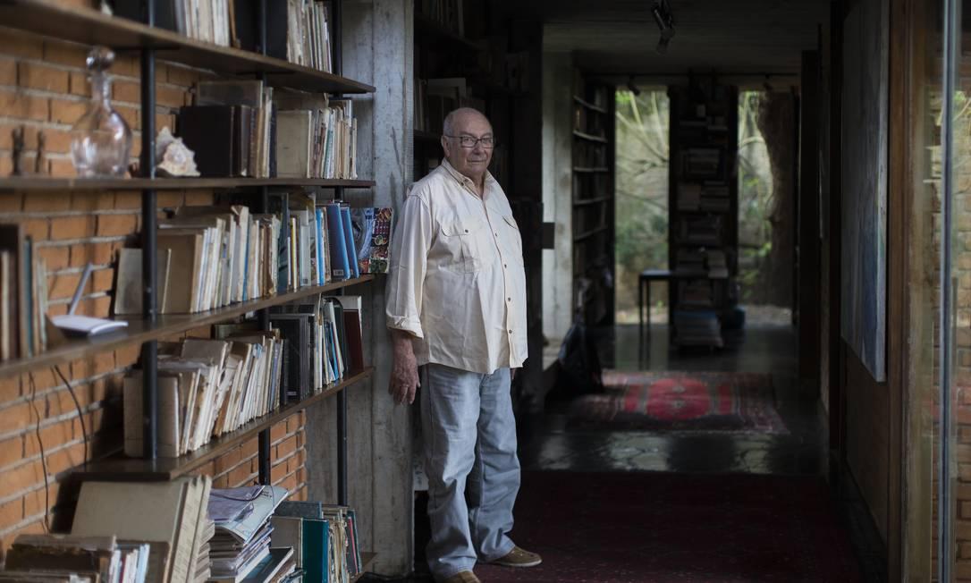 País devassado. Giannotti alerta para crise com pandemia de Covid-19: 'Eu não poderia imaginar uma situação pior' Foto: Edilson Dantas / Agência O Globo