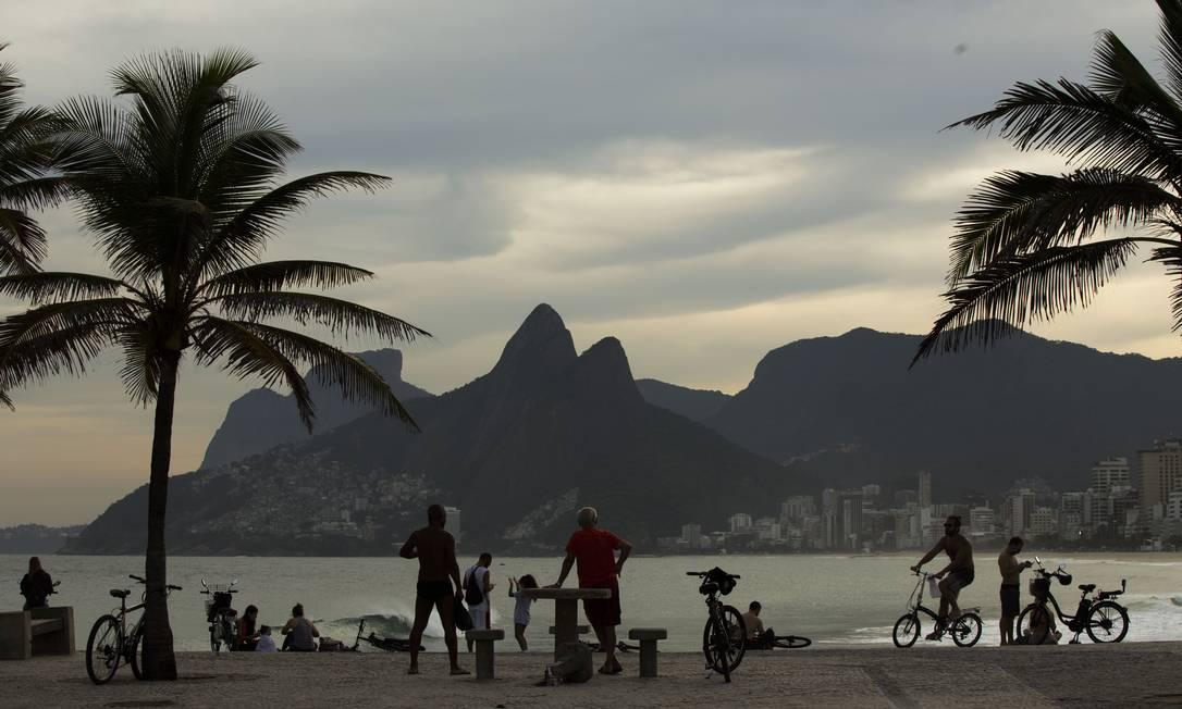 A cidade do Rio terá um alívio nas contas com a suspensão de R$ 625 milhões em pagamentos ao BNDES Foto: Guito Moreto/22-05-2020