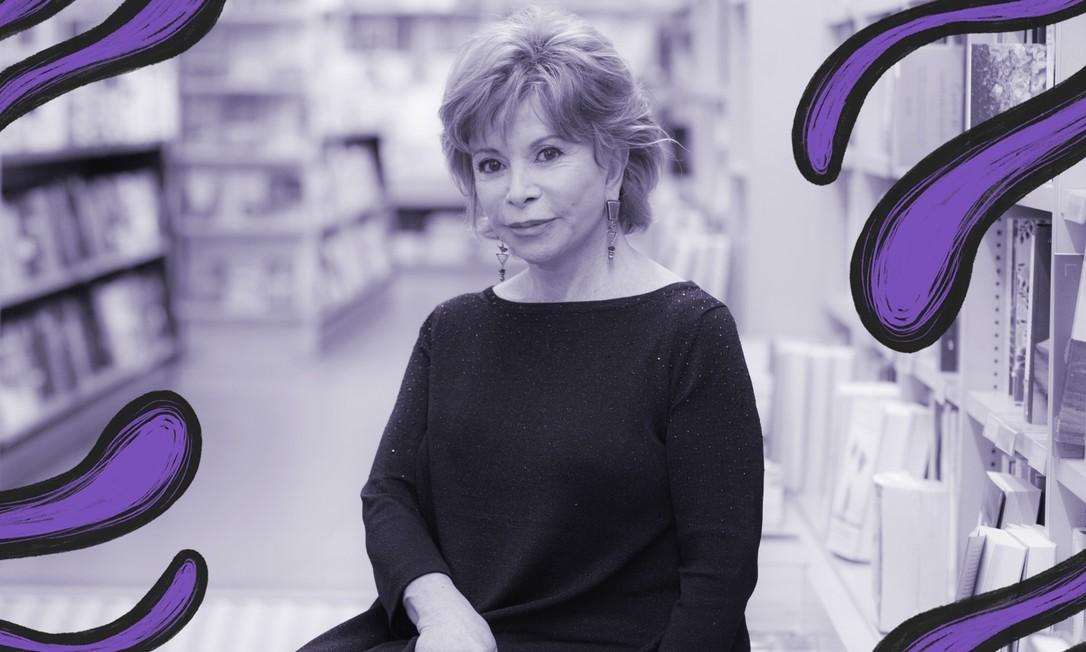 A escritora chilena Isabel Allende Foto: Reprodução