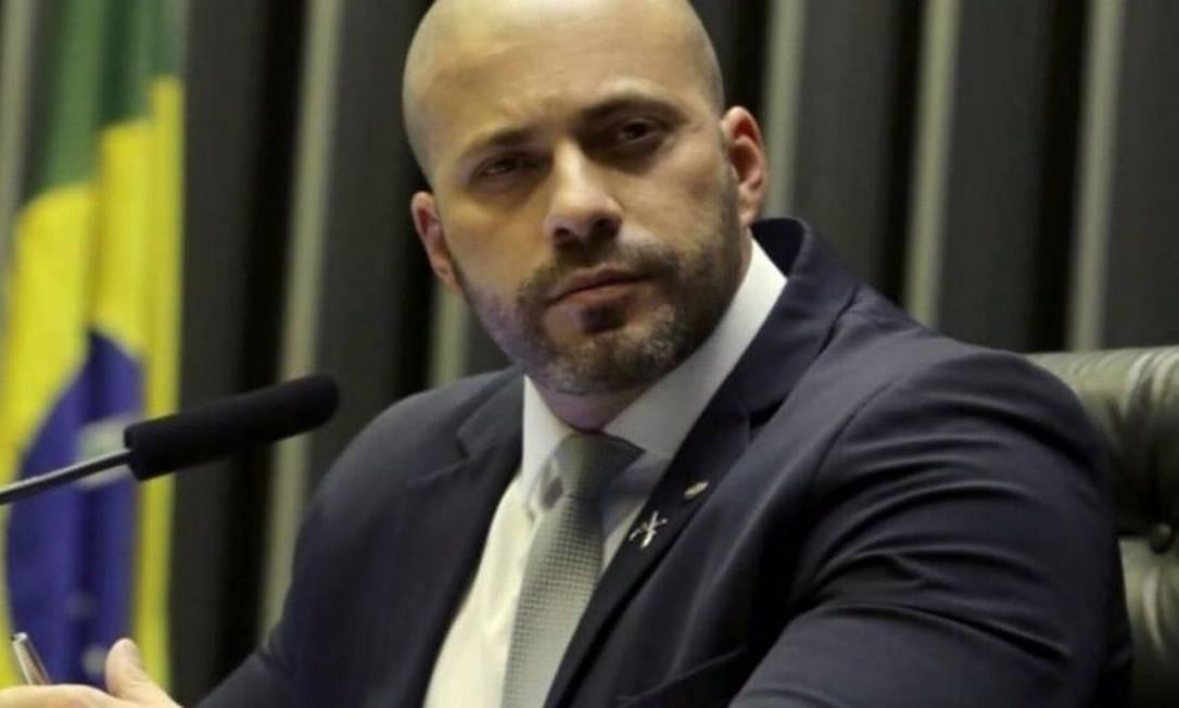 O deputado federal Daniel Silveira (PSL-RJ) Foto: Divulgação