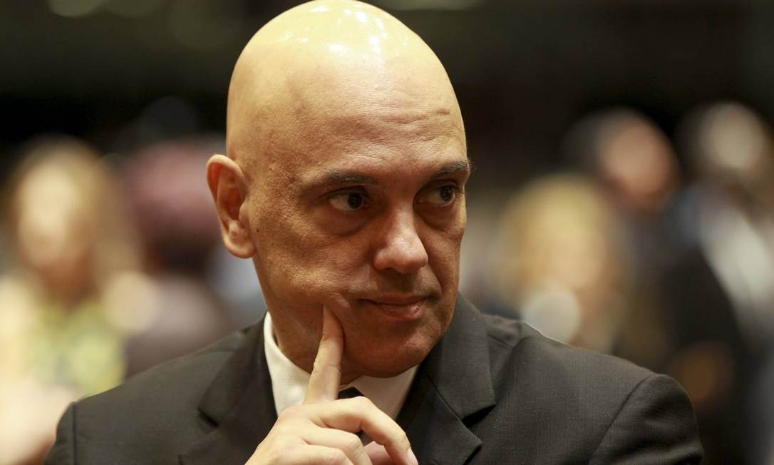 Ministro do STF Alexandre de Moraes Foto: Gabriel de Paiva / Agência O Globo