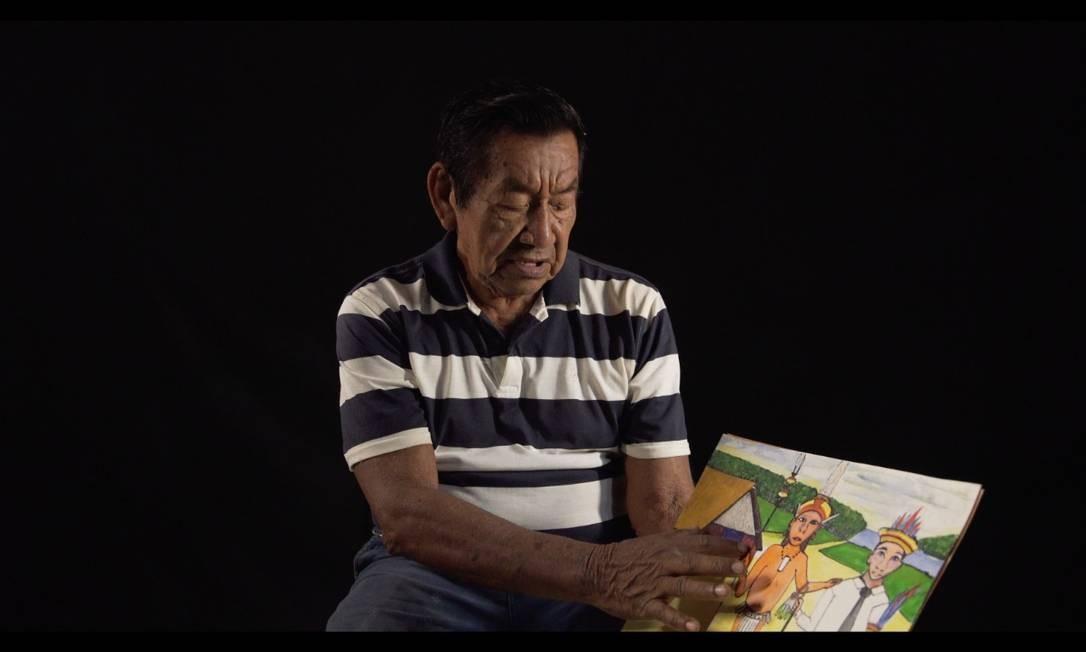 Feliciano Pimentel Lana, do povo Desana, do Noroeste do Amazonas Foto: Thiago Oliveira/Divulgação