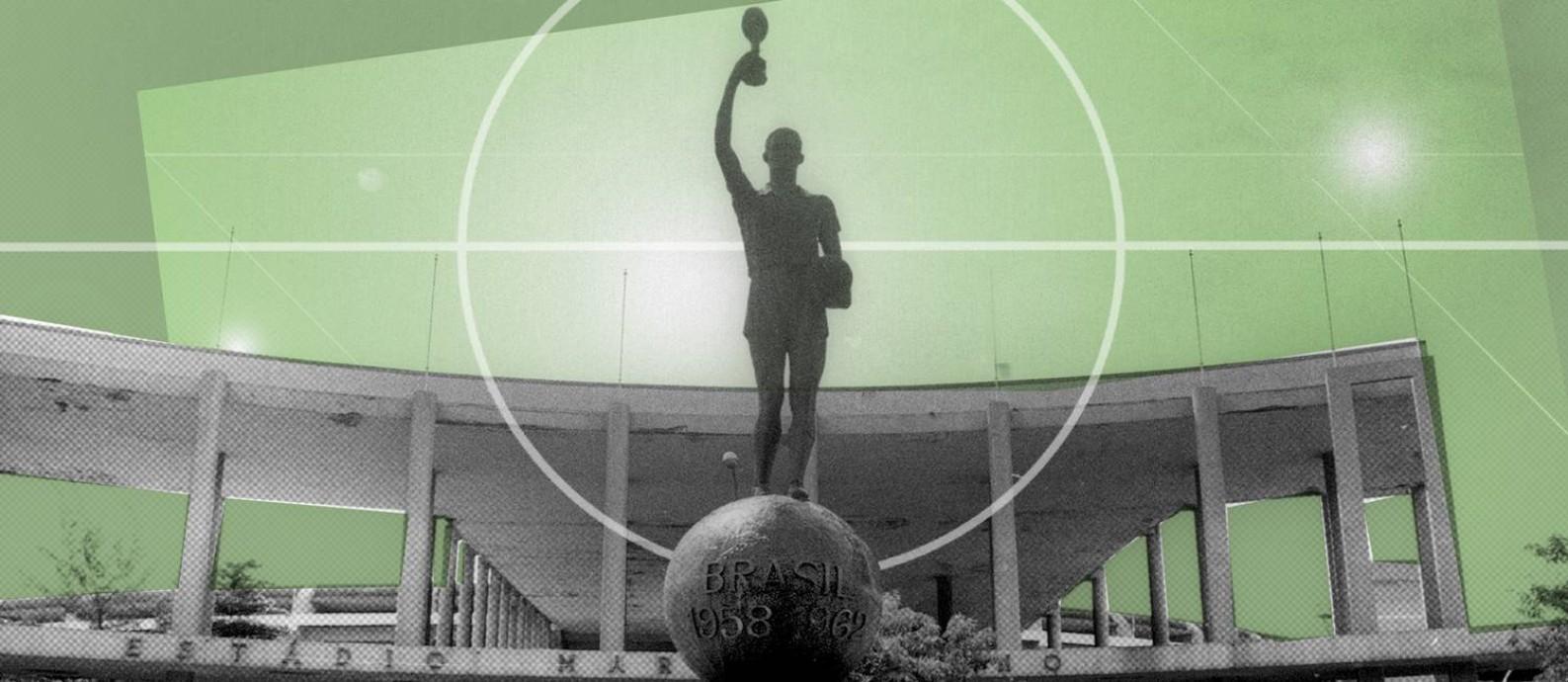 Os 70 maiores jogos da história do Maracanã Foto: Editoria de Arte