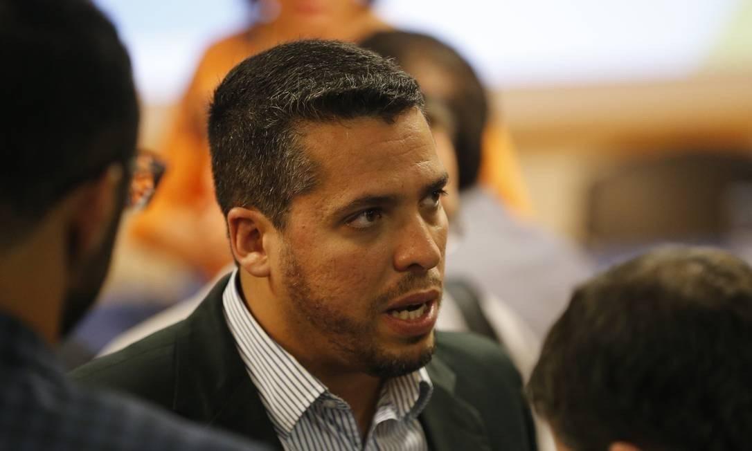 Deputado estadual Rodrigo Amorim (PSL-RJ) Foto: Domingos Peixoto/Agência O Globo