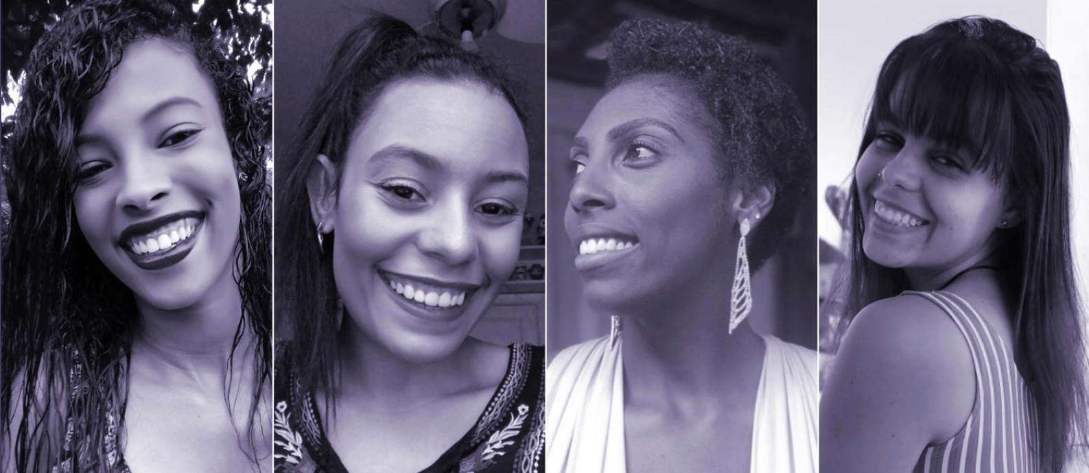 Durante a quarentena, elas decidiram fazer a transição capilar e assumir o cabelo natural Foto: Arquivo Pessoal
