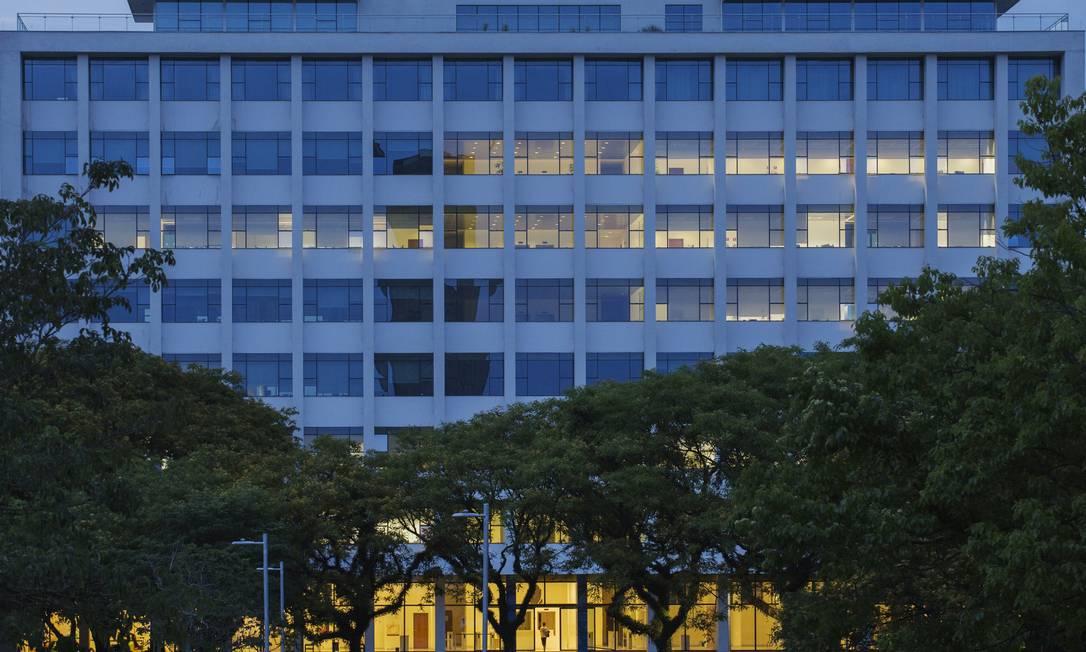 Prédio onde funciona a Reitoria da USP na Cidade Universitária Foto: Lalo de Almeida / Folhapress