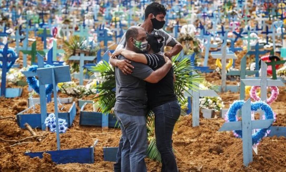 O Brasil está no segundo lugar dos países com mais casos de covid-19 Foto: BBC News Brasil