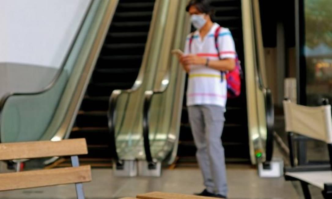 No Brasil, mais da metade dos shoppings reabriram as portas durante a pandemia do novo coronavírus Foto: Getty Images