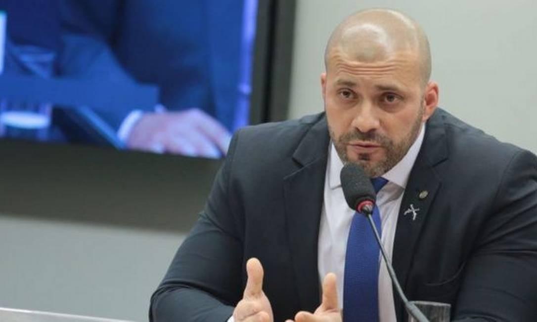 Deputado Daniel Silveira (PSL-RJ) Foto: PLÍNIO XAVIER/CÂMARA DOS DEPUTADOS