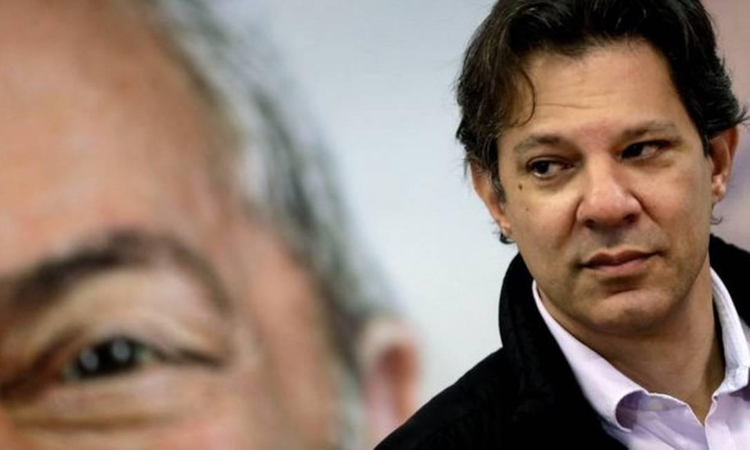 O ex-prefeito de São Paulo Fernando Haddad Foto: EPA