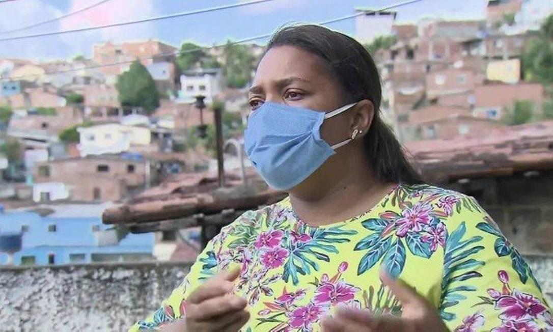 Mirtes Renata Souza é mãe do menino Miguel, de 5 anos, morto ao cair do 9° andar de um prédio no Centro de Recife Foto: Reprodução