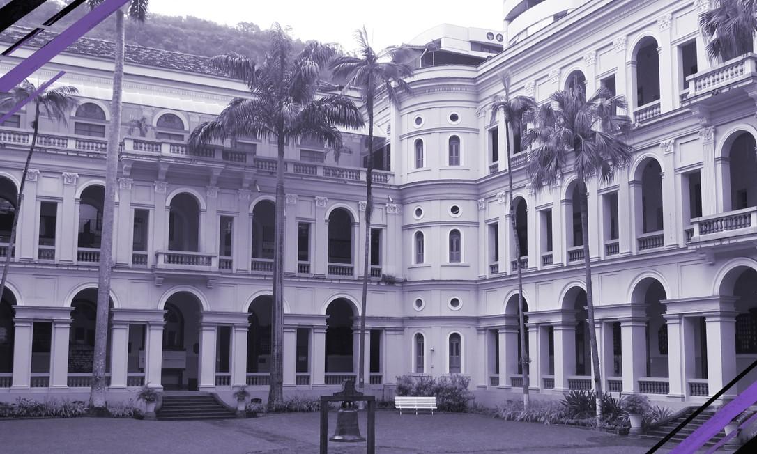 Alunas do Santo Inácio, colégio privado de Botafogo, contaram ter sofrido assédio de professores Foto: Hugo Limarque/Agência O Globo