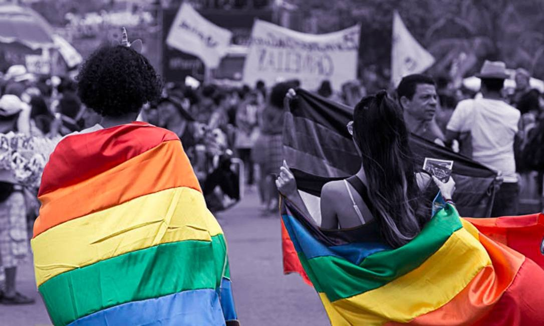 Sem poder ir pra rua, movimento LGBT+ celebra o orgulho virtualmente Foto: Agência O Globo