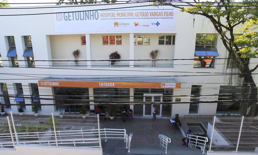 O Hospital Municipal Getulinho, no Fonseca: 11 crianças foram internadas na unidade com Covid-19 Fotos: Fabio Guimarães /Agência O Globo. Foto: Fábio Guimarães / Agência O Globo