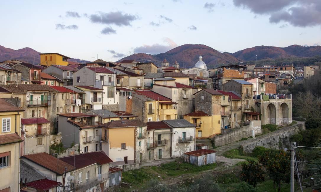 Cinquefrondi, cidade de 6.600 habitantes na região da Calábria Foto: Tullio Pronestì