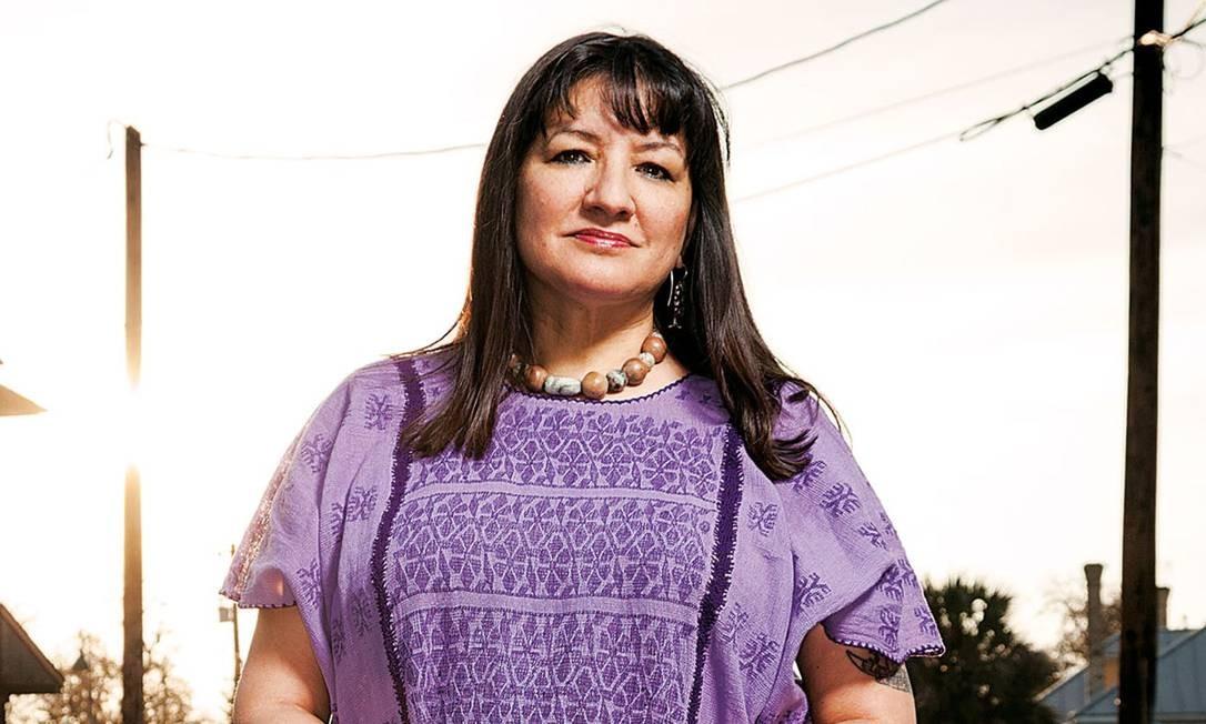 Sandra Cisneros: obra da autora americana de origem mexicana só ganhou relevância de uns tempos para cá Foto: Divulgação