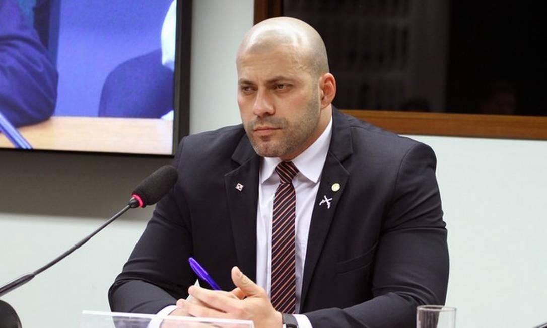 Deputado Daniel Silveira, do PSL do Rio de Janeiro Foto: Vinicius Loures/Câmara dos Deputados