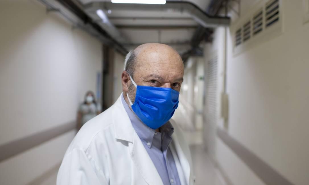 Professor Ronaldo Damião, diretor do Hospital Universitário Pedro Ernesto Foto: Márcia Foletto / Agência O Globo