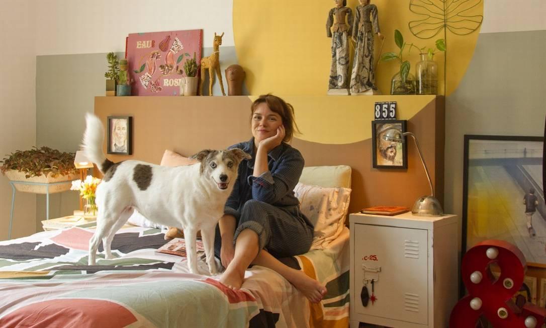 """Thalita Carvalho, apresentadora do """"Mais cor, por favor"""", fez da prática um negócio Foto: Reprodução"""