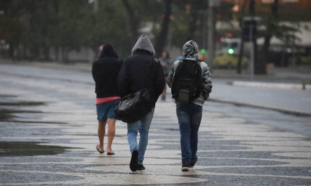 O Inverno entra em vigor no próximo sábado, dia 20 Foto: Fabiano Rocha / Agência O Globo - 14.08.2019