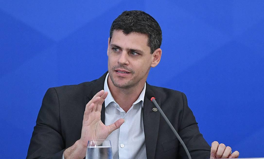 Bruno Funchal, diretor de programa do Ministério da Economia, e futuro secretário do Tesouro Nacional Foto: Edu Andrade / Ministério da Economia