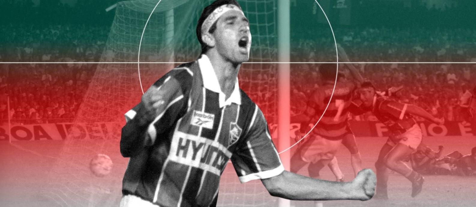 Os 10 maiores jogos do Fluminense no Maracanã Foto: Editoria de Arte