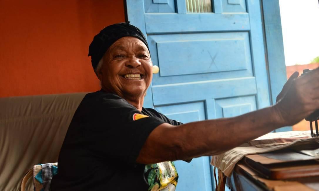 Liderança quilombola, tia Uia, morre de coronavírus Foto: Divulgação / Ricardo Alvez