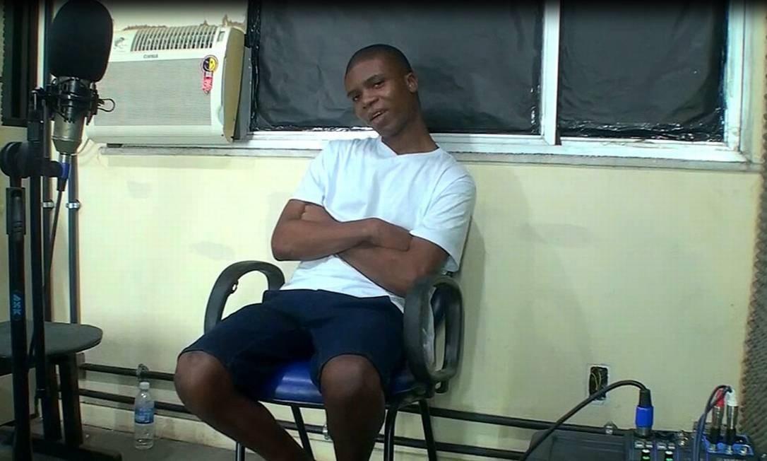 Lucas Cézar dos Santos, acusado de envolvimento na morte do pastor Anderson do Carmo Foto: Reprodução