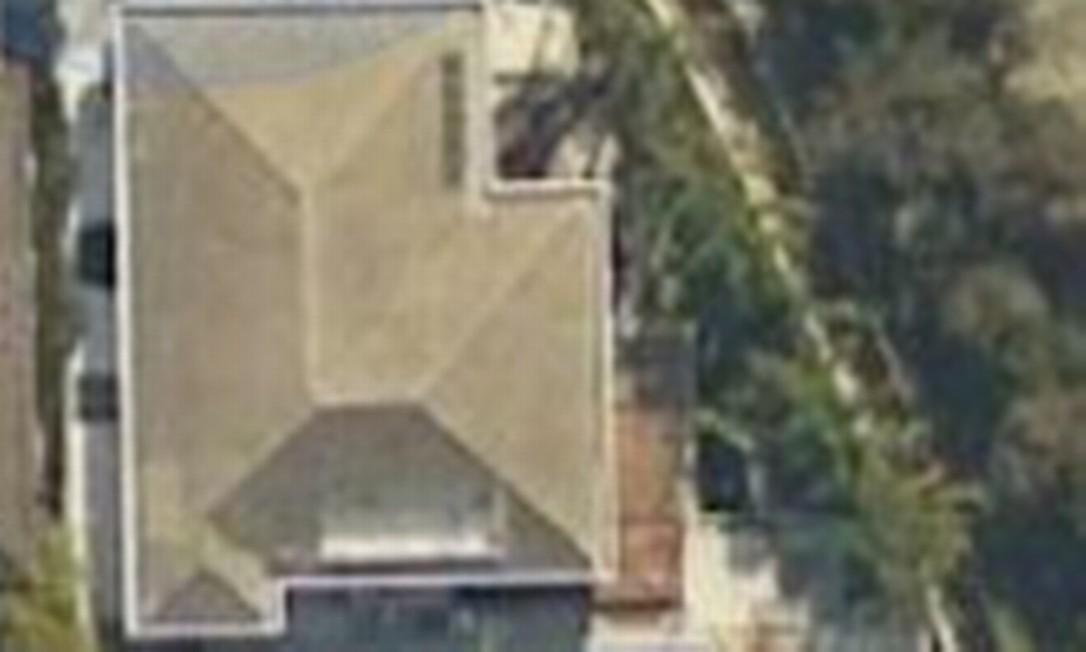 A mansão de Bernardo Bello, num condomínio na Barra da Tijuca Foto: Google Maps / Reprodução