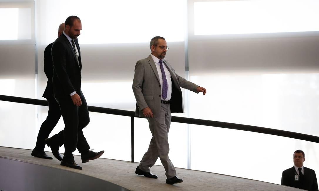 Após 14 meses no governo Bolsonaro, Abraham Weintraub deixa o Ministério da Educação Foto: Pablo Jacob / Agência O Globo -29/04/2020
