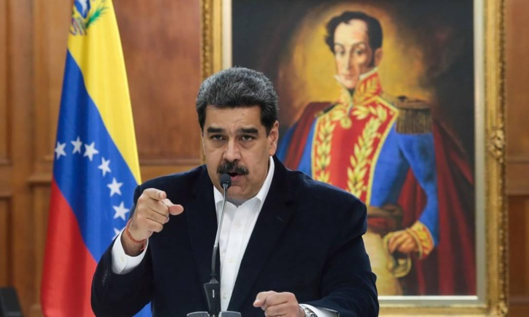 O presidente da Venezuela, Nicolás Maduro: críticas ao Brasil Foto: REUTERS/4-5-2020