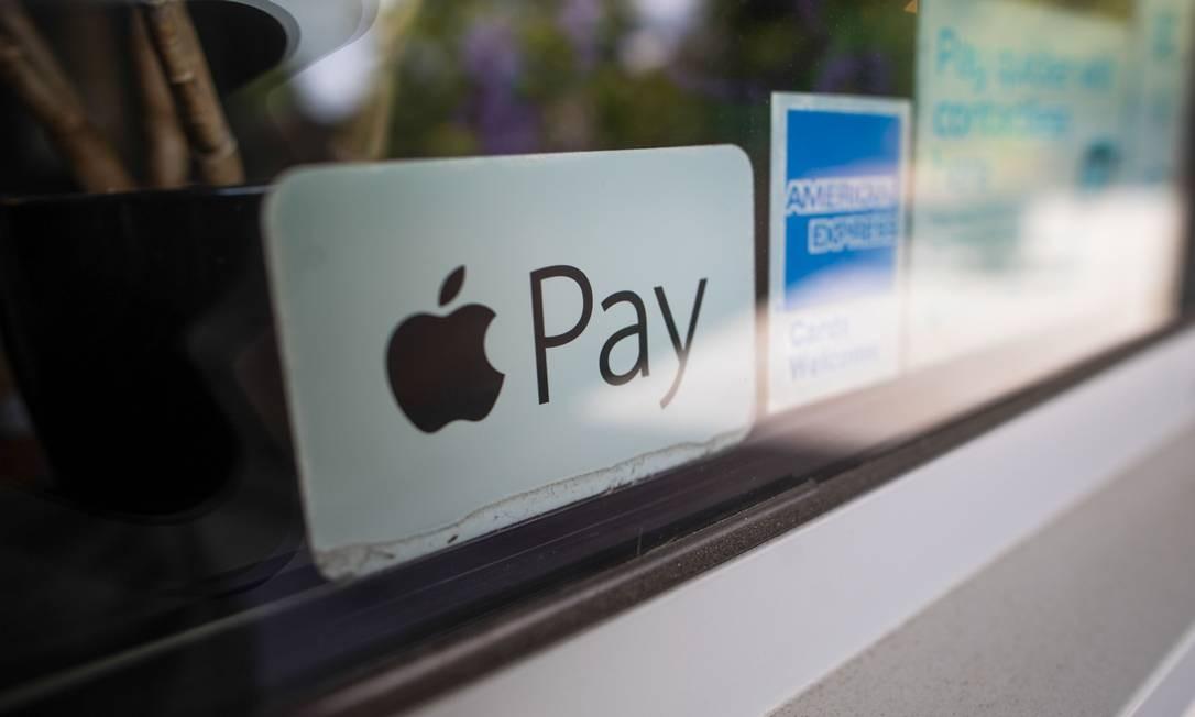 O sistema de pagamentos Apple Pay está na mira da Comissão Europeia Foto: Chris Ratcliffe / Bloomberg