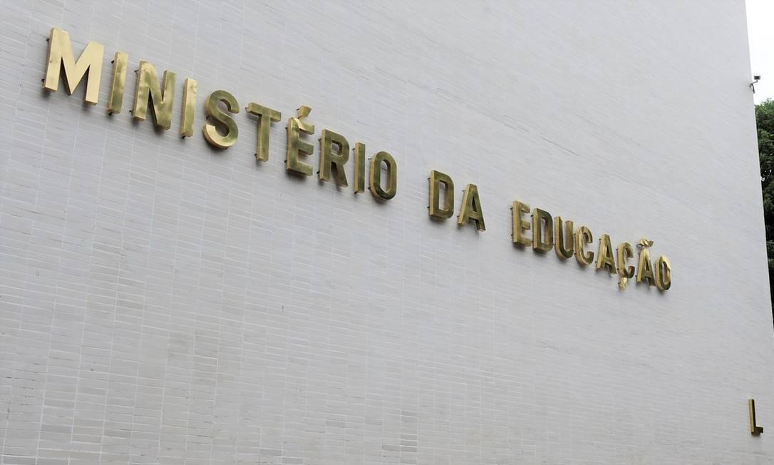 MEC anuncia iniciativas para as federais Foto: Marcos Oliveira / Agência O Globo