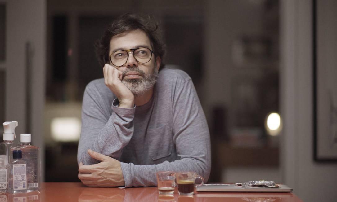 Bruno Mazzeo como Murilo de 'Diário de um confinado' Foto: Glauco Firpo/Divulgação