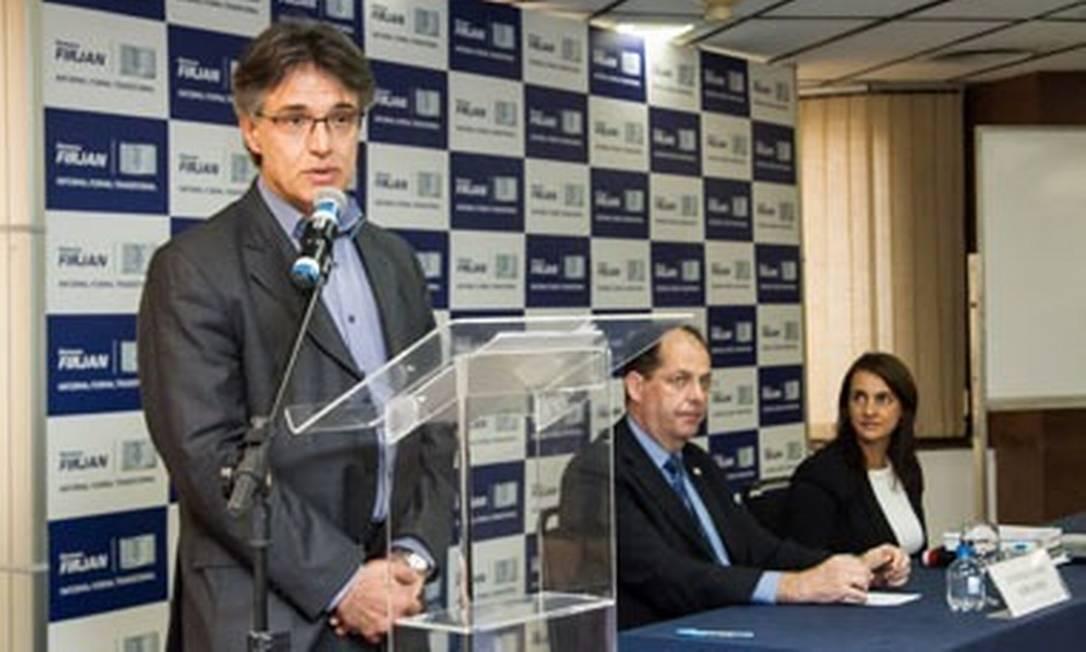 Ex-fiscal de substituição tributária da Fazenda estadual, Allan Dimitri Chaves Peterlongo Foto: Fabiano Veneza/Divulgação Firjan
