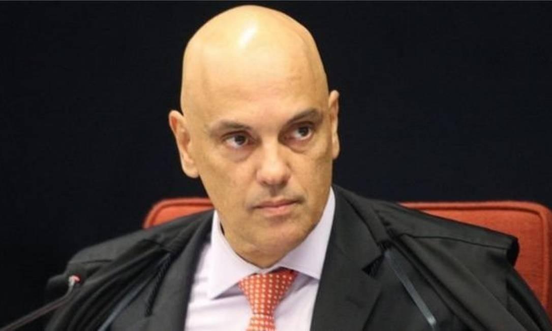 Alexandre de Moraes é o relator do inquérito que investiga atos antidemocráticos Foto: NELSON JR./SCO/STF