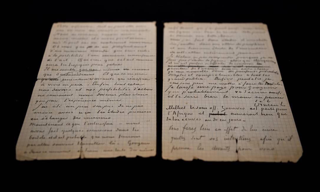 Carta de Van Gogh e Gauguin sobre bordéis é vendida por R$ 1,2 ...