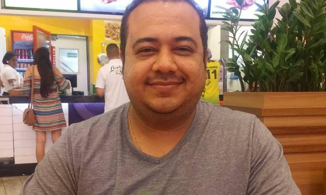 Fabio Cardoso Thomé dos Santos morreu após sete dias de internação em UTI Foto: Reprodução