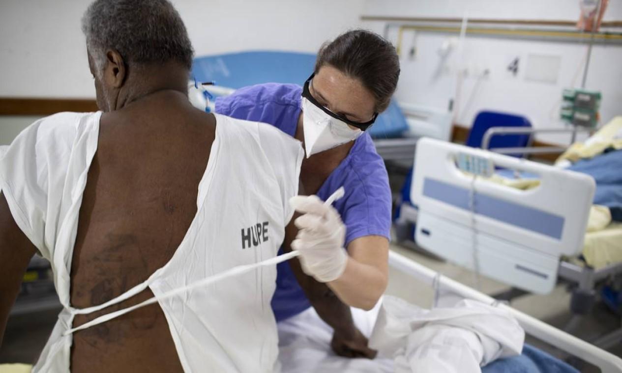 Setor está em funcionamento há menos de um mês Foto: Márcia Foletto / Agência O Globo