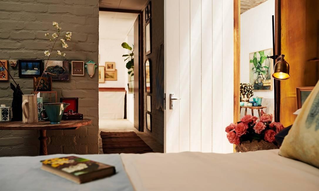Quarto de um imóvel disponível no Airbnb: higiene terá foco maior depois da pandemia Foto: Divulgação