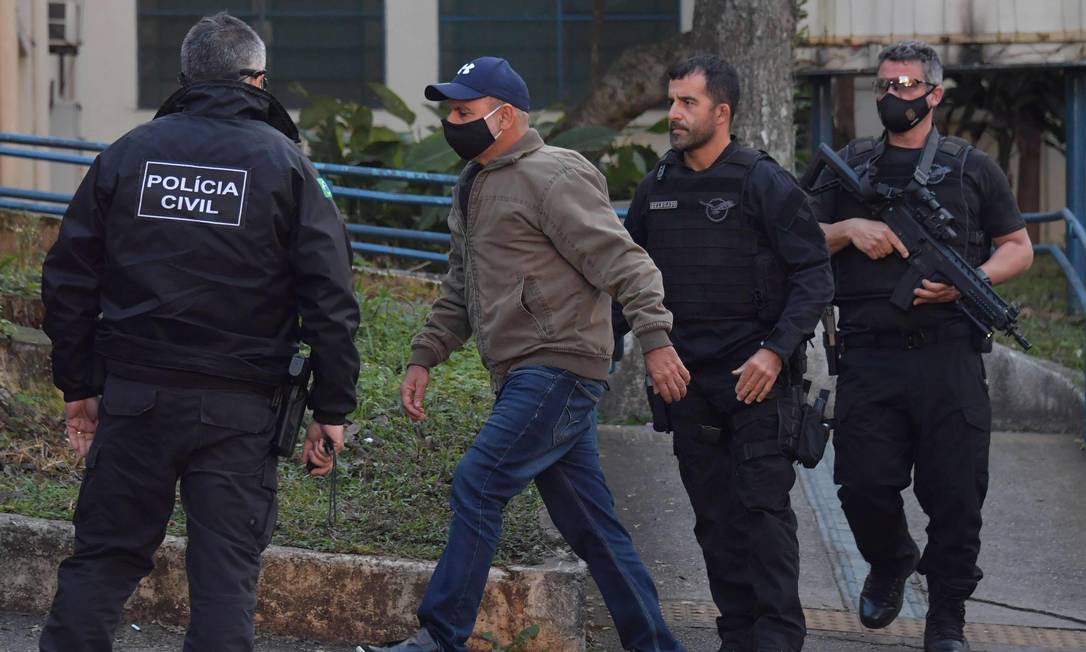 Ex-assessor de Flávio Bolsonaro, Fabrício Queiroz foi preso em Atibaia (SP) Foto: NELSON ALMEIDA / AFP