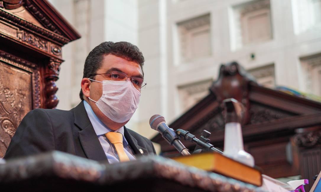 Chico Machado (PSD): deputado foi eleito presidente da comissão que analisará impeachment de Witzel na Alerj Foto: Divulgação - Thiago Lontra / Alerj