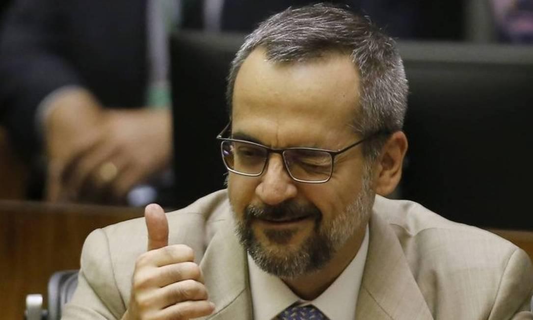 Abraham Weintraub Foto: Jorge William/Agência O Globo