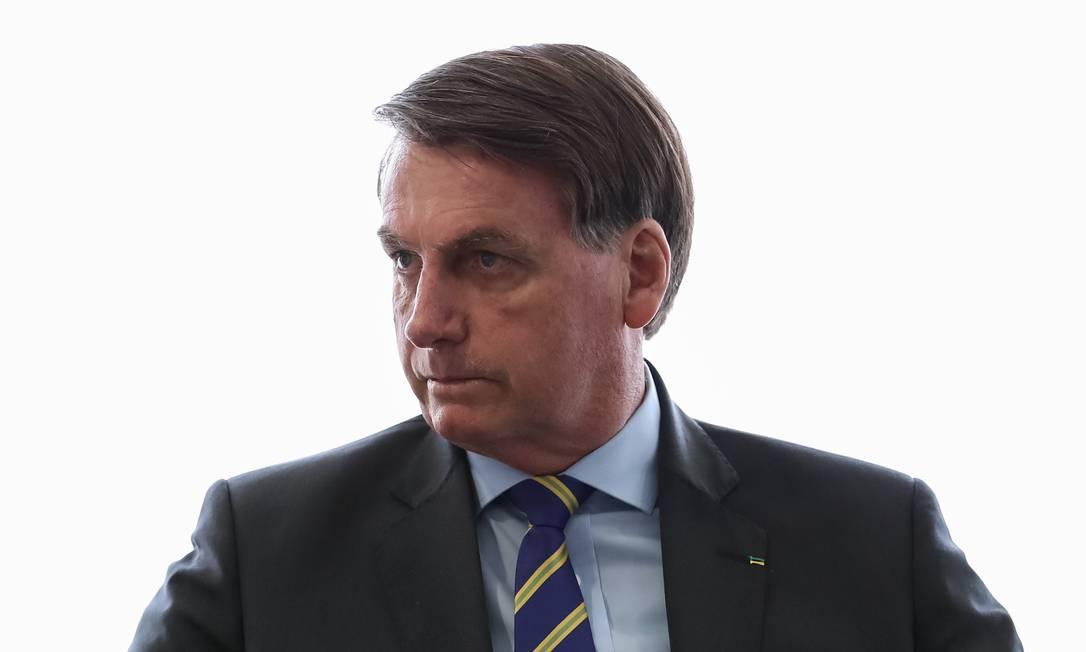 O presidente Jair Bolsonaro vê prisão de Queiroz como perseguição do Judiciário. Foto: Marcos Correa / Agência O Globo