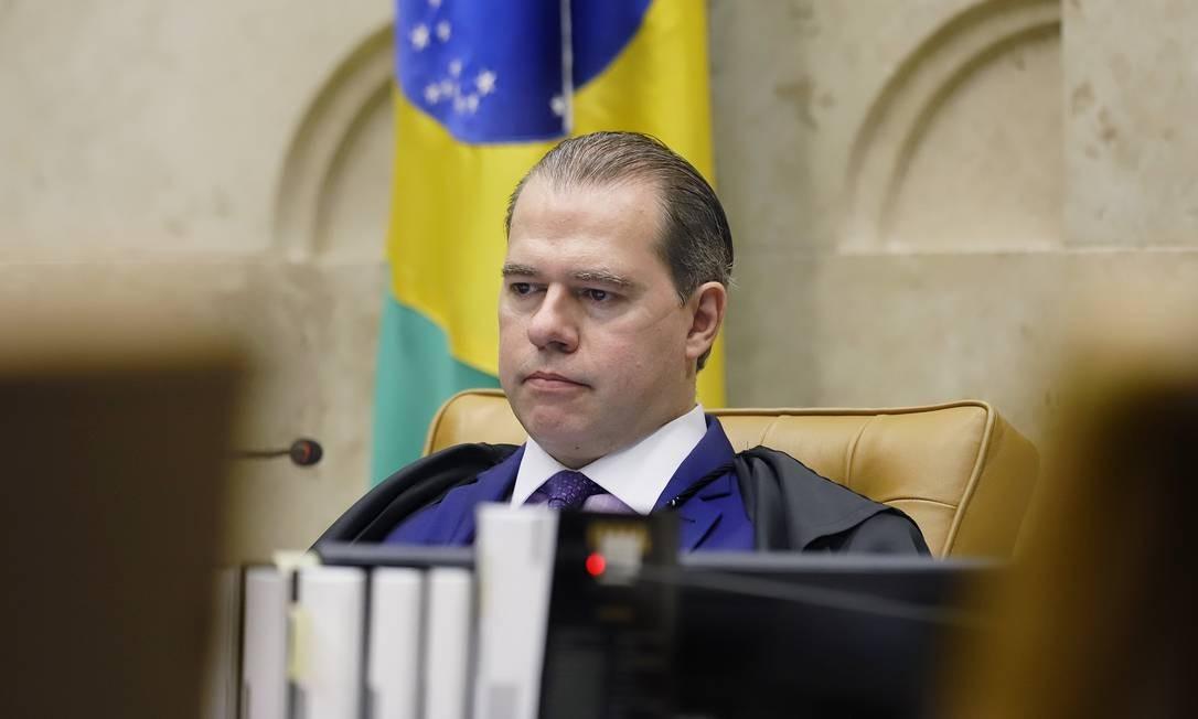 O presidente do Supremo Tribunal Federal, Dias Toffoli 18/06/2020 Foto: Divulgação/ STF
