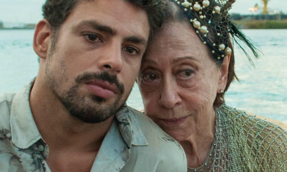 Cauã Reymond e Fernanda Montenegro no filme 'Piedade' Foto: Divulgação